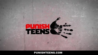 PunishTeens - Redhead Step-Daughter Gets Dominated