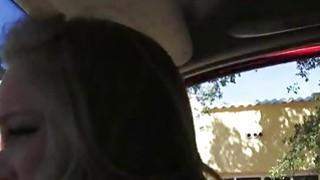 Sexy teen slut Staci fucked on the road by nasty stranger