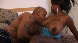 Fatso with droopy boobs Hypnotiq enjoys being fucked doggy