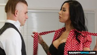 Desperate For a Job, Lily Lane, Is Willing to Blow Her Way For a Position