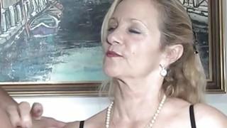 MMV FILMS Sexy Granny tries fresh jock meat