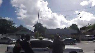 Black guy love fucking two slutty female police officers in uniform