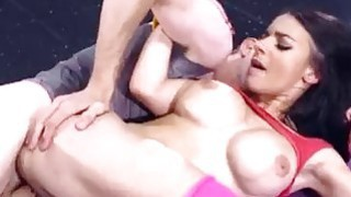 Sporty Sophia Laure gets assfucked at yoga school