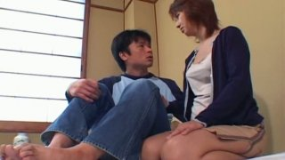 Kyoko Hayama and her boyfriend get horny for a quickie