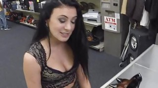 Fucking and pounding horny slut right for the money