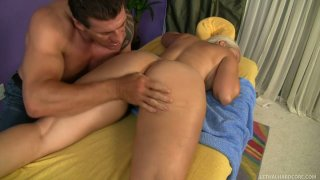 Erotic massage turns into cock sucking with horny Mandy Sweet