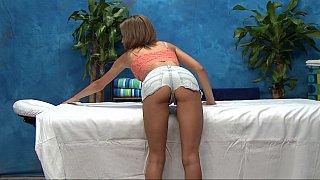 18 year old massage girl Natasha showing pussy
