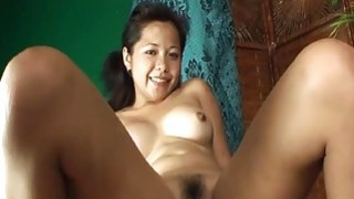 Asian bitch sucking and fucking the lucky fellow