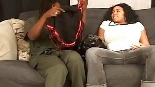 Chunky black pregnant girlfriend takes monthly sperm supply with exboyfriend